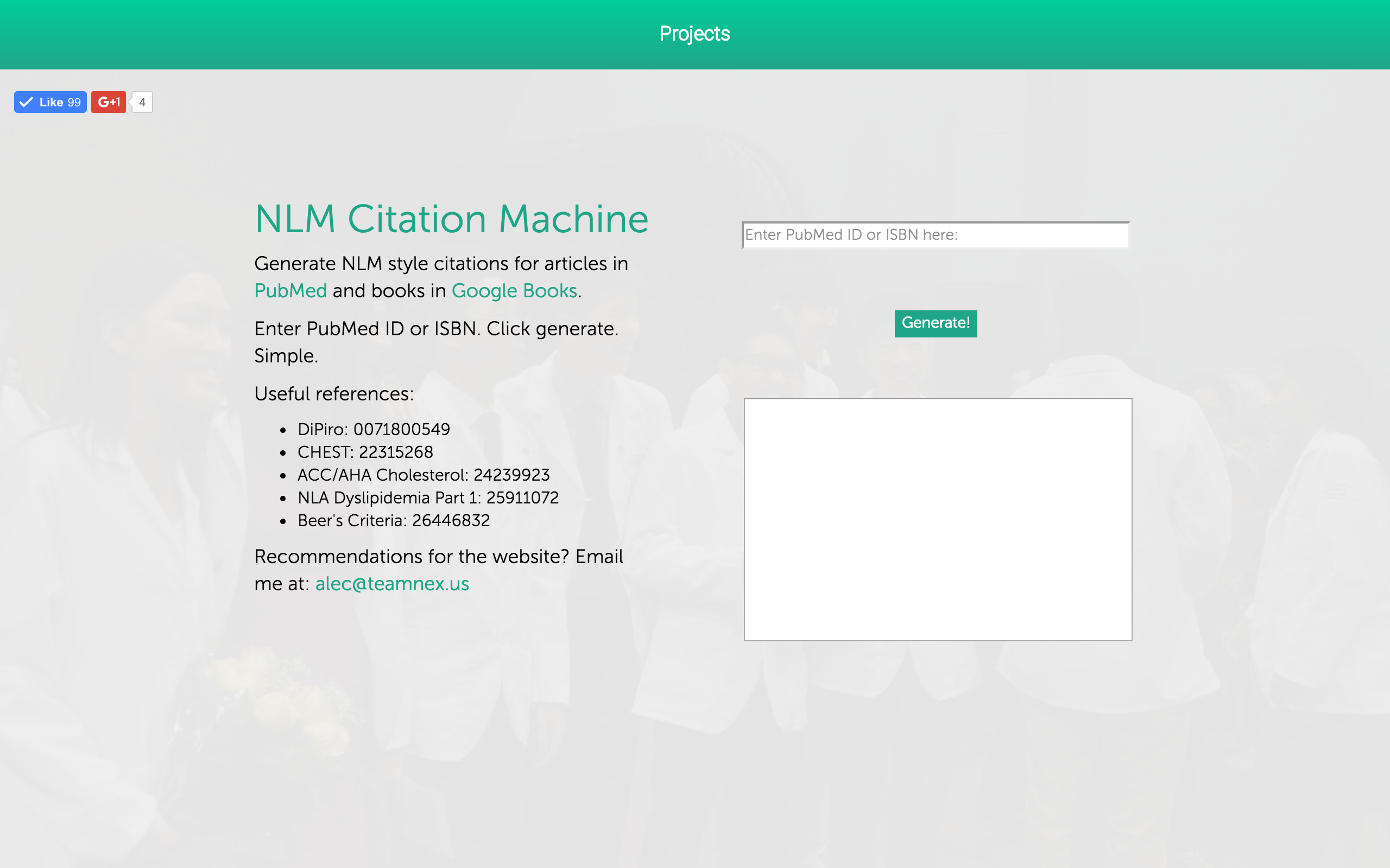 NLM Citation Machine